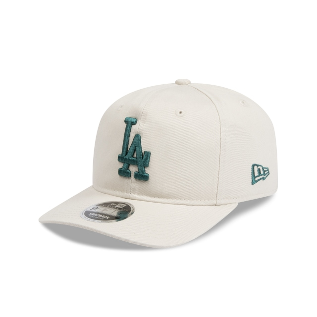 Los Angeles Dodgers Stone Unstructured 9fifty Original Fit Pre-curved Snapback | New Era Cap