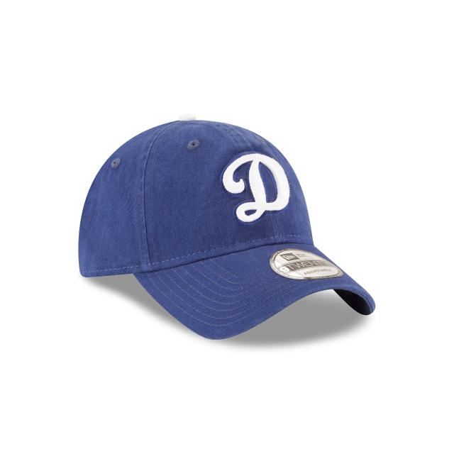 LOS ANGELES DODGERS WASHED DARK ROYAL 9TWENTY 3 quarter right view