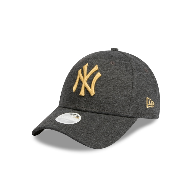 3dafcbbe718 New York Yankees Black Jersey And Gold Womens 9forty