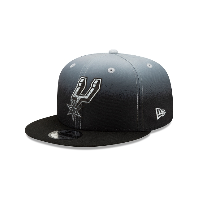 San Antonio Spurs NBA Authentics: Back HaLF Edition Official Team Colours 9FIFTY Snapback | San Antonio Spurs Hats | New Era Cap