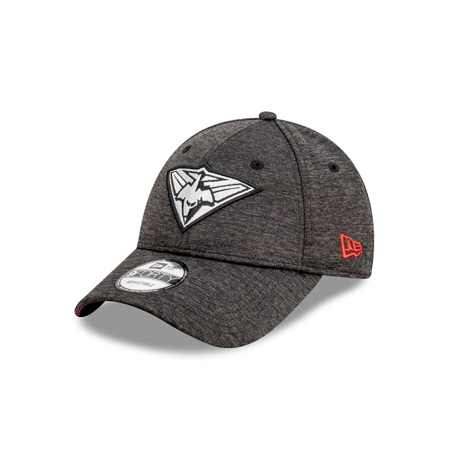 Essendon Bombers Shadow Tech Metallic Official Team Colours 9FORTY Snapback | Essendon Bombers Hats | New Era Cap