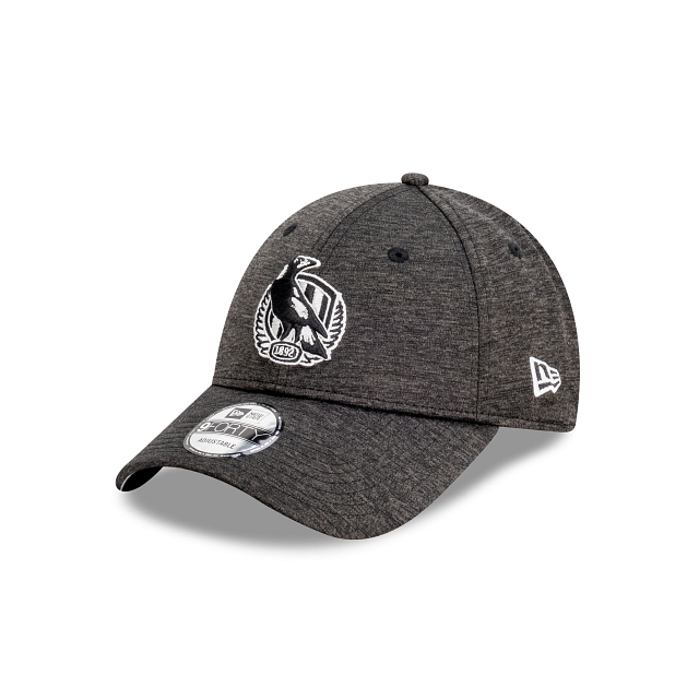 Collingwood Magpies Shadow Tech Metallic Official Team Colours 9FORTY Snapback | Collingwood Magpies Hats | New Era Cap