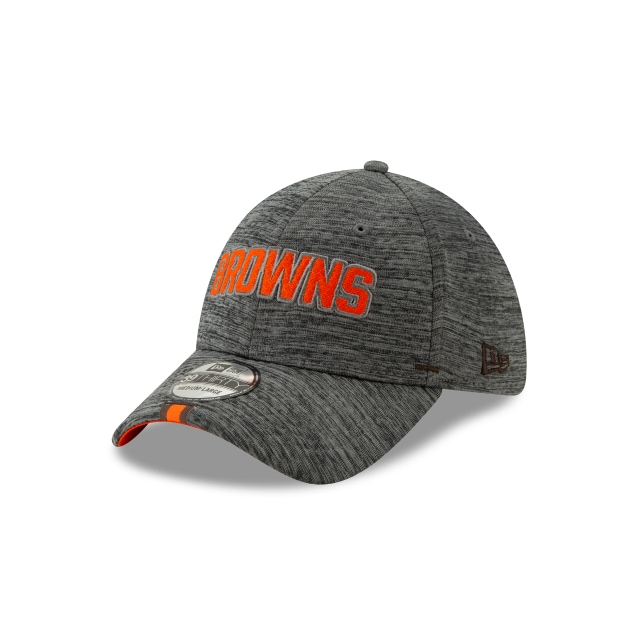 Cleveland Browns Nfl Training Graphite 39thirty Stretch Fit | New Era Cap