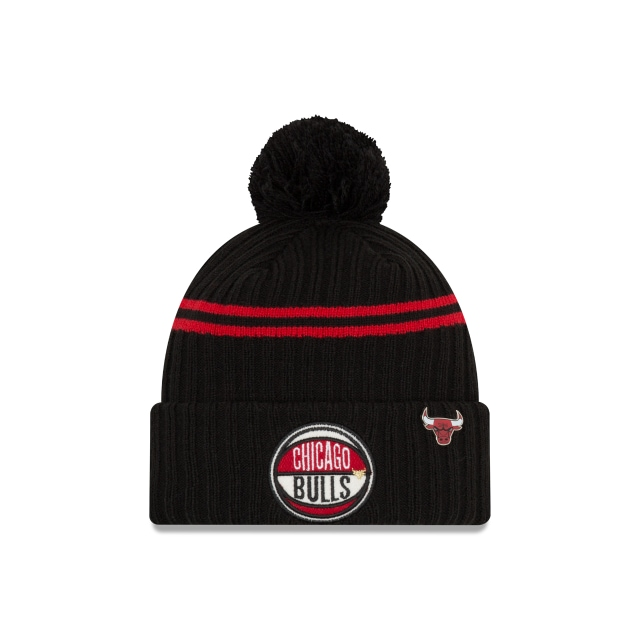 Chicago Bulls Nba Authentics Draft Series Beanie | New Era Cap