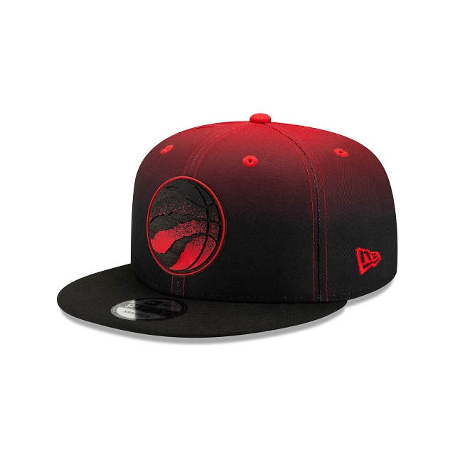 Toronto Raptors NBA Authentics: Back HaLF Edition Official Team Colours 9FIFTY Snapback | Toronto Raptors Hats | New Era Cap
