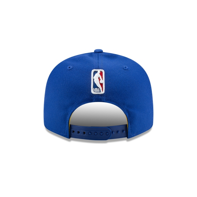 GOLDEN STATE WARRIORS NBA AUTHENTICS: BACK HALF SERIES OTC 9FIFTY SNAPBACK Rear view