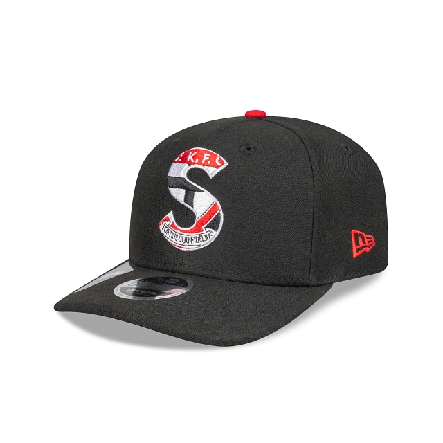 St Kilda Saints Letter Infill Official Team Colours Original Fit 9FIFTY Snapback | St Kilda Saints Hats | New Era Cap
