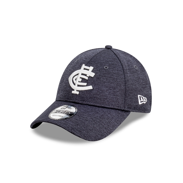 Carlton Blues Shadow Tech Metallic Official Team Colours 9FORTY Snapback | Carlton Blues Hats | New Era Cap