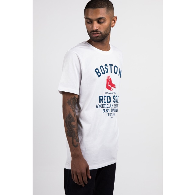 Boston Red Sox White Americana T-shirt | New Era Cap
