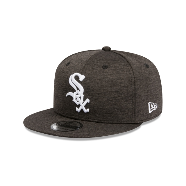 Chicago White Sox Black Shadow Tech 9fifty Snapback | Chicago White Sox Baseball Caps | New Era Cap