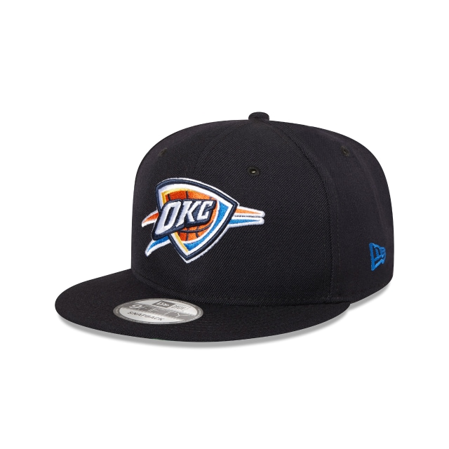 Oklahoma City Thunder Navy 9fifty Snapback | Oklahoma City Thunder Basketball Caps | New Era Cap