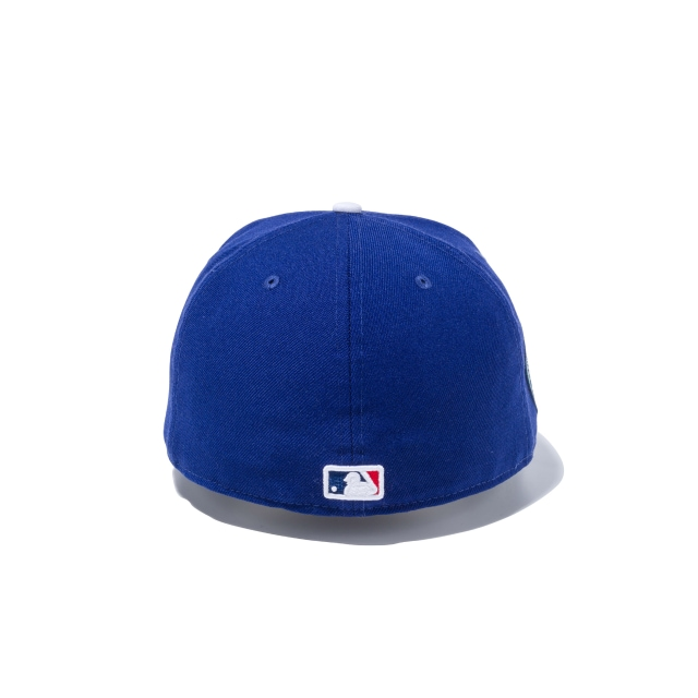 LOS ANGELES DODGERS 25TH ANNIVERSARY MLB ON FIELD COLLECTION 59FIFTY FITTED Rear view