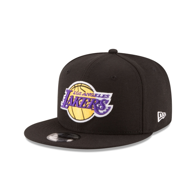 Los Angeles Lakers Black 9fifty | New Era Cap