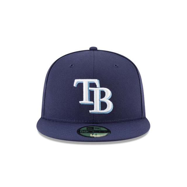 557219aa2c625 Tampa Bay Rays Authentic Collection 59fifty Fitted