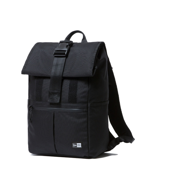 Roll Top Black Backpack | Delivery 2 Caps | New Era Cap