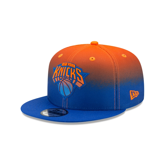 New York Knicks NBA Authentics: Back HaLF Edition Official Team Colours 9FIFTY Snapback | New York Knicks Hats | New Era Cap
