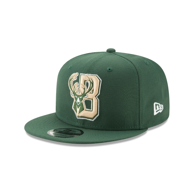 Milwaukee Bucks Nba Authentics Back Half Series Otc 9fifty Snapback | New Era Cap