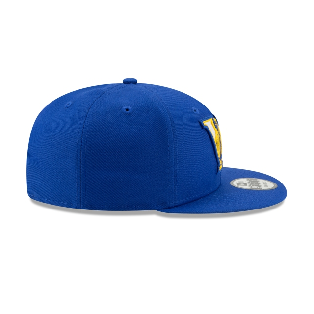 GOLDEN STATE WARRIORS NBA AUTHENTICS: BACK HALF SERIES OTC 9FIFTY SNAPBACK Right side view