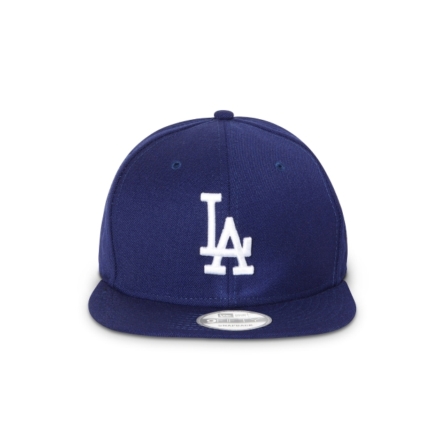 LOS ANGELES DODGERS DARK ROYAL 9FIFTY SNAPBACK Front view