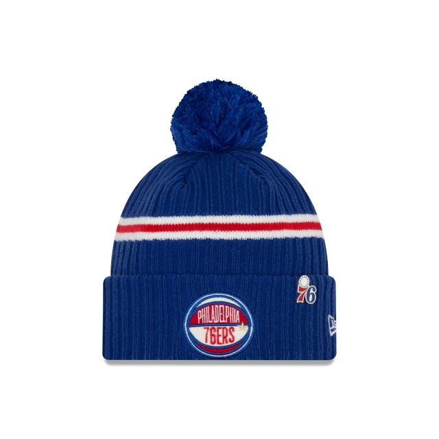 Philadelphia 76ers Nba Authentics Draft Series Beanie | New Era Cap