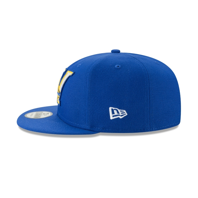 GOLDEN STATE WARRIORS NBA AUTHENTICS: BACK HALF SERIES OTC 9FIFTY SNAPBACK Left side view