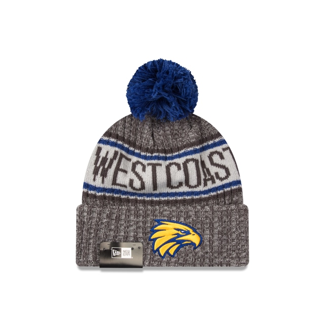 West Coast Eagles Graphite Grey Marl Beanie | New Era Cap