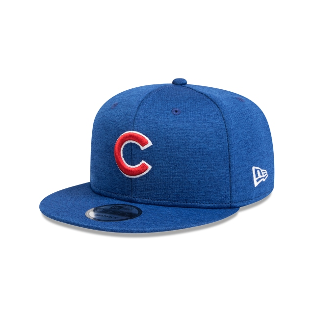 CHICAGO CUBS LIGHT ROYAL SHADOW TECH 9FIFTY SNAPBACK 3 quarter left view 84f1b9e523b