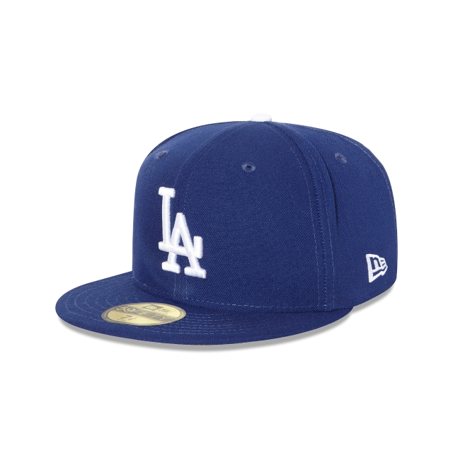 7199724bf00 Los Angeles Dodgers Authentic Collection 59fifty Fitted