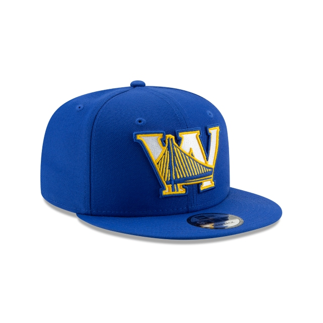 GOLDEN STATE WARRIORS NBA AUTHENTICS: BACK HALF SERIES OTC 9FIFTY SNAPBACK 3 quarter right view