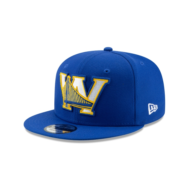 Golden State Warriors Nba Authentics Back Half Series Otc 9fifty Snapback | New Era Cap