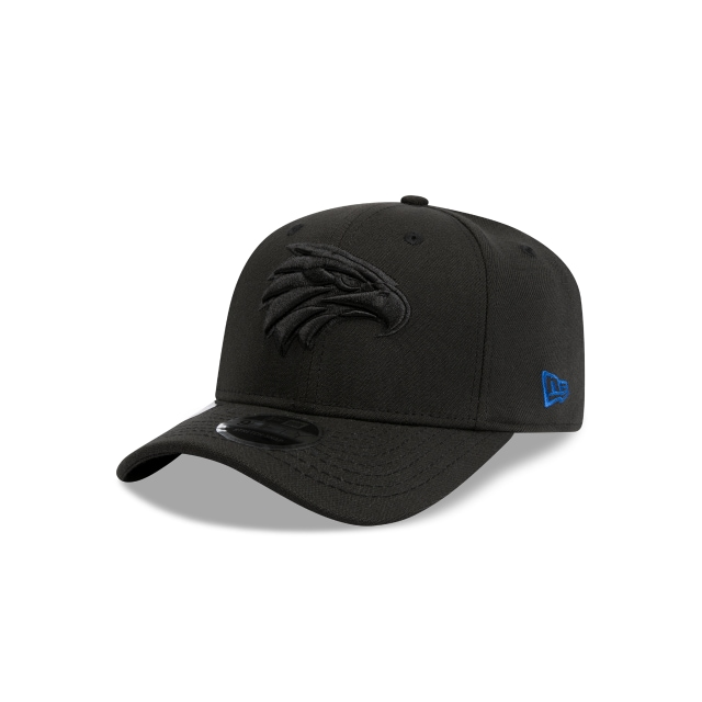 West Coast Eagles Black 9FIFTY Stretch Snapback | West Coast Eagles Hats | New Era Cap