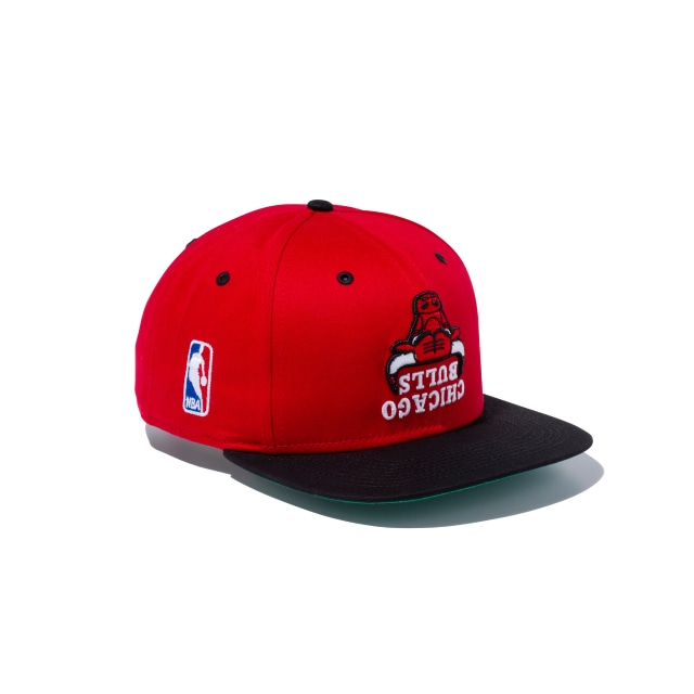 Chicago Bulls Upside Down Scarlet 9fifty Snapback | Chicago Bulls Basketball Caps | New Era Cap