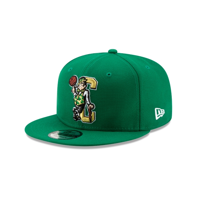 Boston Celtics Nba Authentics Back Half Series Otc 9fifty Snapback | New Era Cap