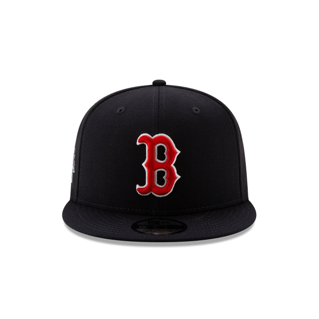 Boston Red Sox Crystals From Swarovski World Series Patch 9FIFTY | Boston Red Sox Hats | New Era Cap