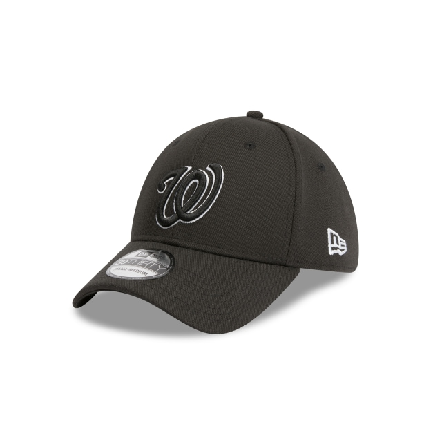 Washington Nationals Black 39thirty | New Era Cap