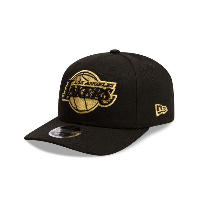 Los Angeles Lakers Black Gold 9fifty Original Fit | Los Angeles Lakers Basketball Caps | New Era Cap