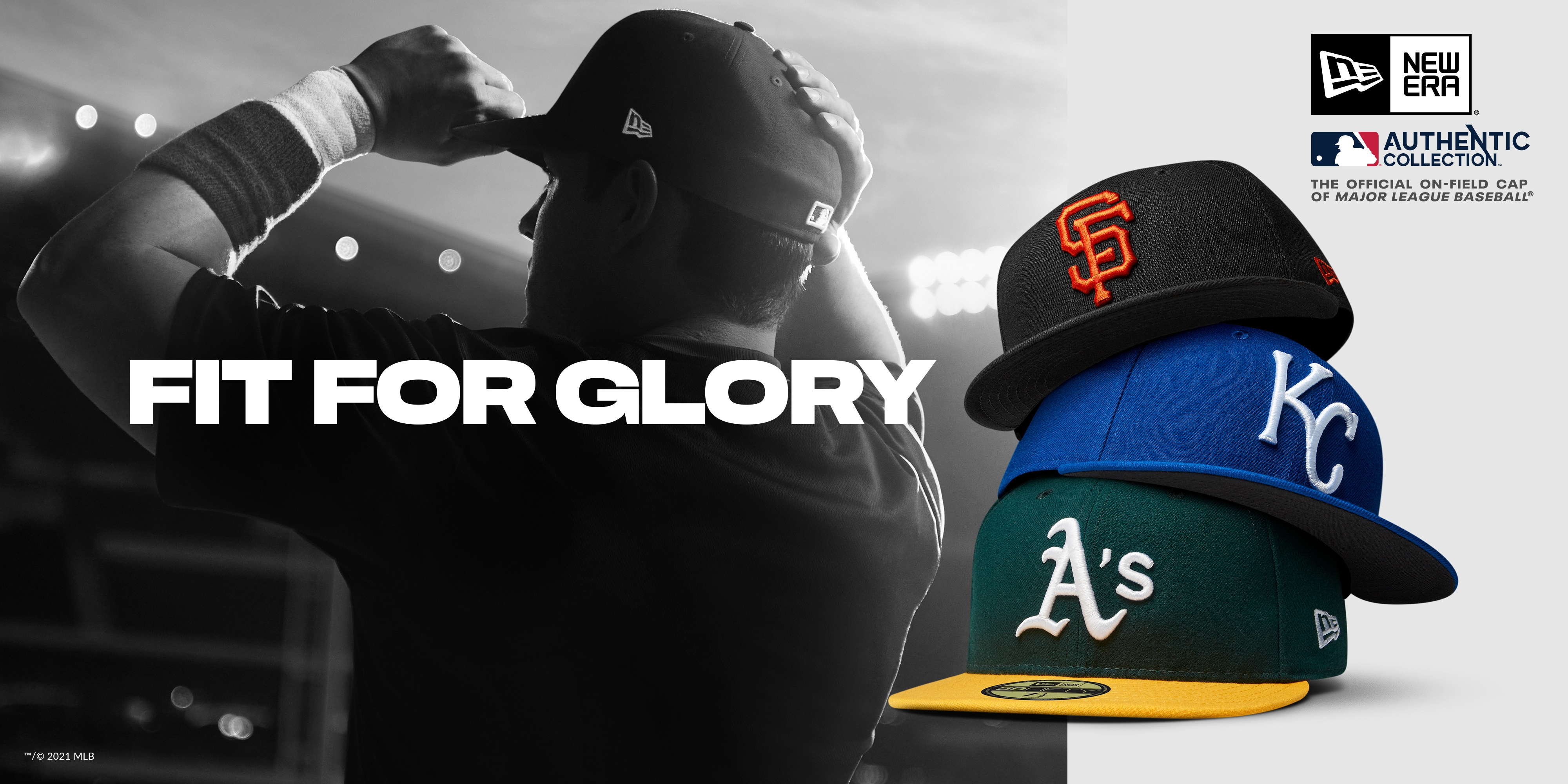New Era Cap | Shop MLB Fitted Authentic Collection