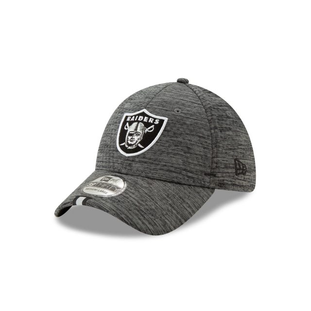 Oakland Raiders Nfl Training Graphite 39thirty Stretch Fit | New Era Cap