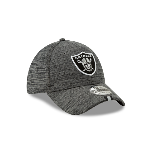 Oakland Raiders Nfl Training Graphite 39thirty Stretch Fit | Oakland Raiders Football Caps | New Era Cap