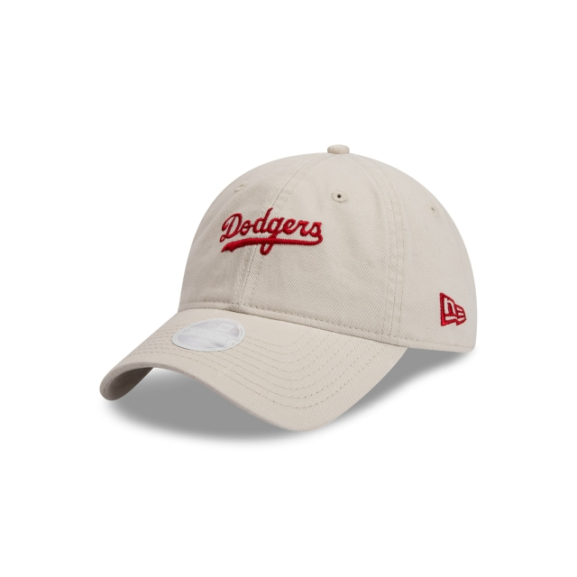 Brooklyn Dodgers Cooperstown Stone Carolina Red Womens 9TWENTY | Los Angeles Dodgers Hats | New Era Cap
