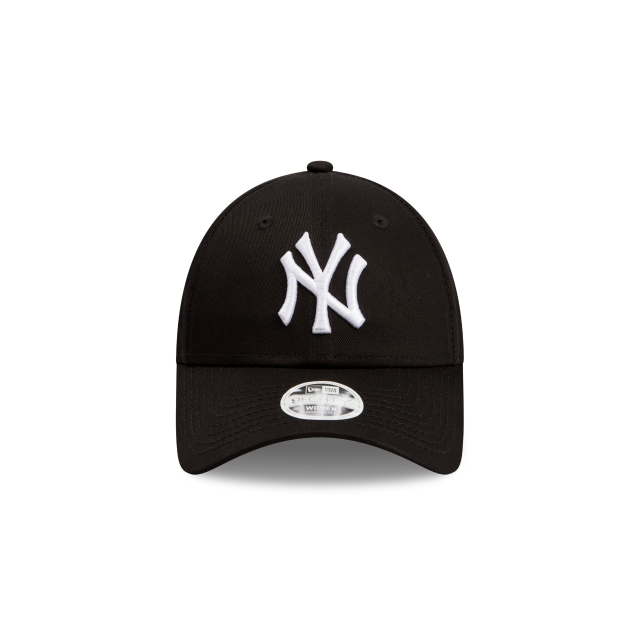 New York Yankees Black Tape Womens 9FORTY | New York Yankees Hats | New Era Cap