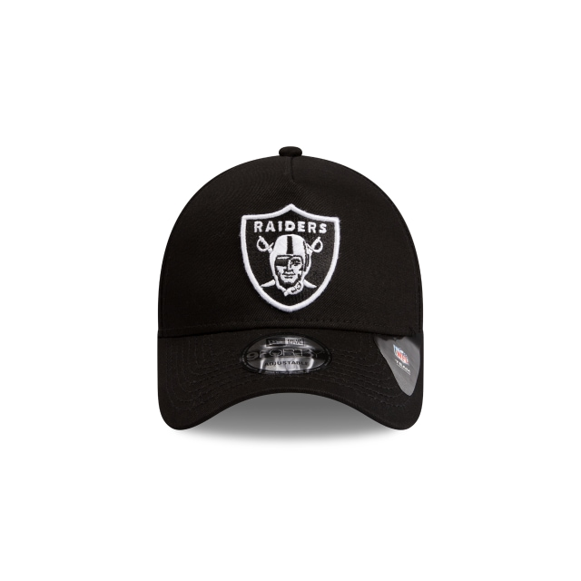 Oakland Raiders Black Green 9forty A-frame | Oakland Raiders Football Caps | New Era Cap
