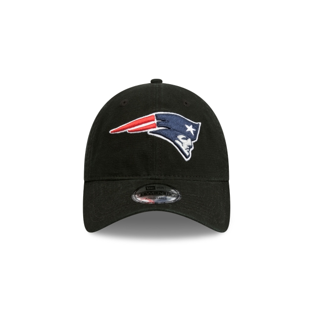 New England Patriots Washed Black Canvas 9twenty | New England Patriots Football Caps | New Era Cap