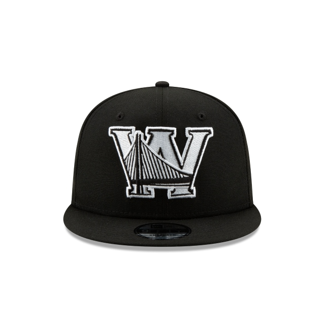 Golden State Warriors Nba Authentics Back Half Series Black 9fifty Snapback | Golden State Warriors Basketball Caps | New Era Cap