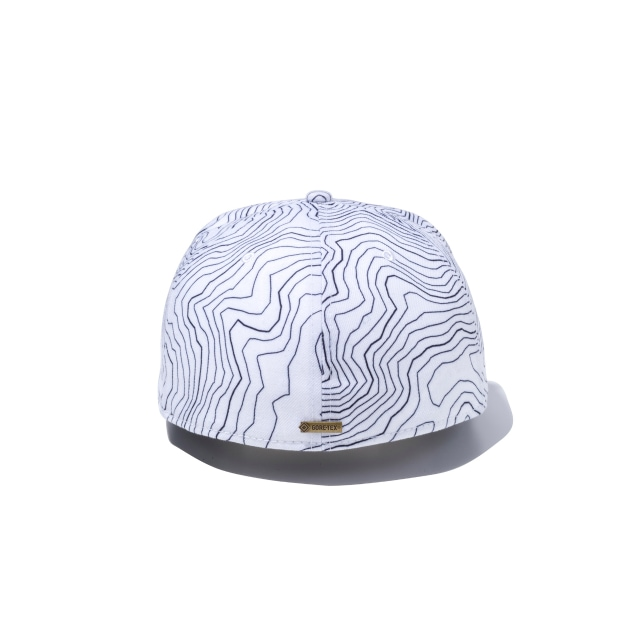 Gore-tex Geological Black Print 59fifty Fitted | Ne Gtx Geological Caps | New Era Cap