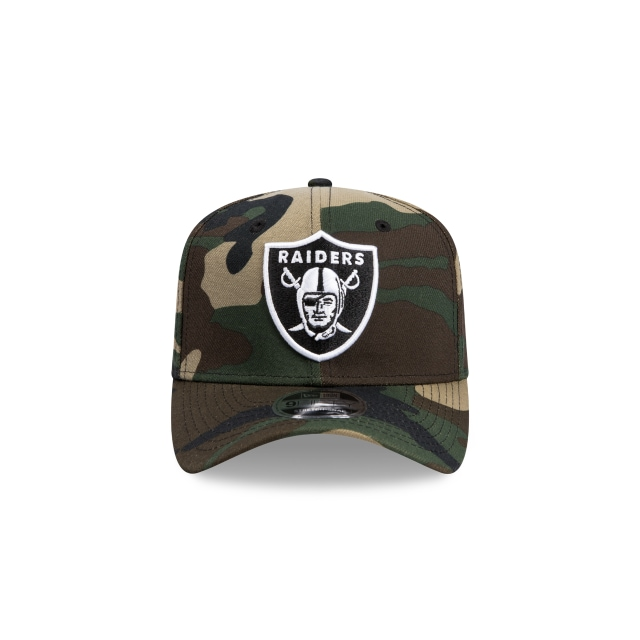 Oakland Raiders Camo 9fifty Stretch Snapback | Oakland Raiders Football Caps | New Era Cap