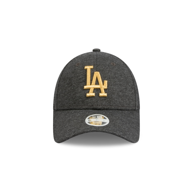 Los Angeles Dodgers Black Jersey And Gold Womens 9FORTY | Los Angeles Dodgers Hats | New Era Cap