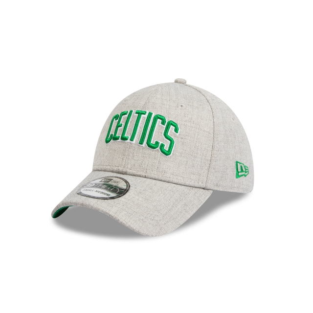 Boston Celtics Heather Grey Script 39thirty | New Era Cap