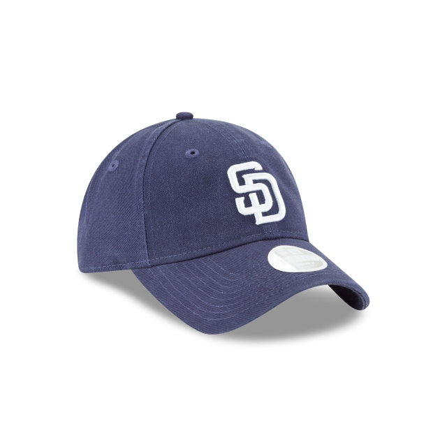 San Diego Padres Washed Navy Womens 9twenty | San Diego Padres Baseball Caps | New Era Cap