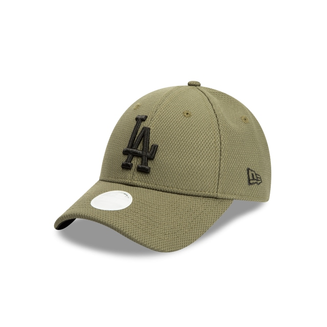 Los Angeles Dodgers New Olive Diamond Era Womens 9forty | New Era Cap